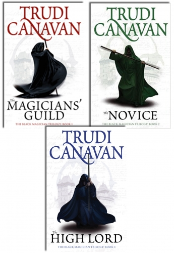 The Black Magician Trilogy 3 Books Collection Set By Trudi Canavan by Trudi Canavan