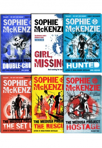 Medusa Project Collection Sophie McKenzie 6 Books Set Double Cross, Hit Squad by Sophie McKenzie
