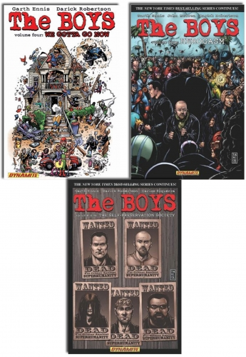 The Boys Series Collection 3 Books Set (V.4-6) by Garth Ennis , Darick Robertson
