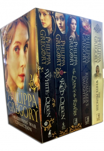 Cousins War Series Collection Philippa Gregory 5 Books Set by Philippa Gregory