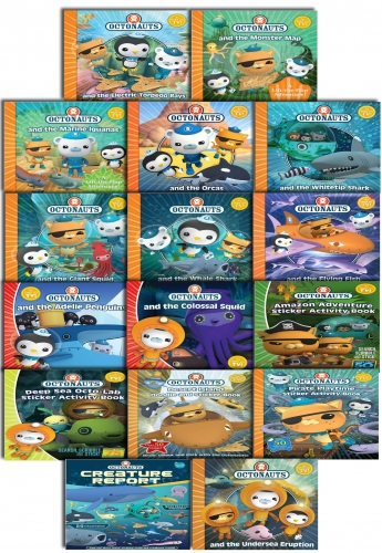 Octonauts Series 16 Book Collection Set Pack by Simon & Schuster