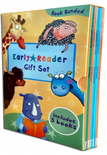 Early Readers Story Collection - Set 1 - 5 Books Box Set Childrens Gift Pack Read at Home by Various
