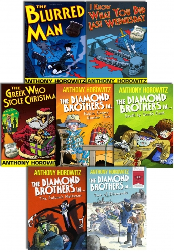 The Diamond Brothers Detective Agency Collection Anthony Horowitz 7 Books Set by Anthony Horowitz