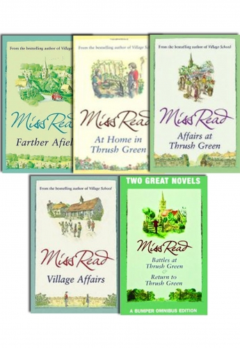 Miss Read Fairacre Series Womens Novel Collection 5 Books Set Pack by Miss Read