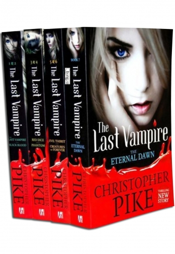 Last Vampire Christopher Pike 7 Titles in 4 Books Set by Christopher Pike