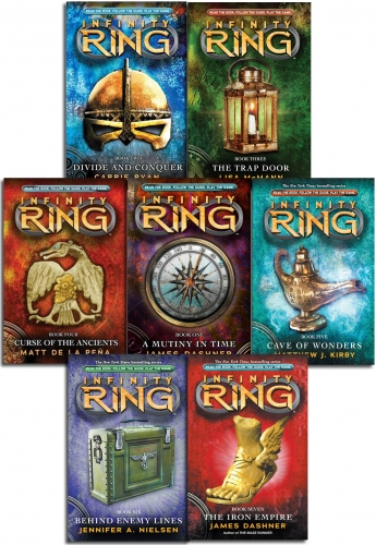 Infinity Ring James Dashner Collection 7 Book Set Book 1 to 7 by James Dashner