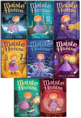 Holly Webb Maisie Hitchins Series Collection 8 Books Set by Holly Webb