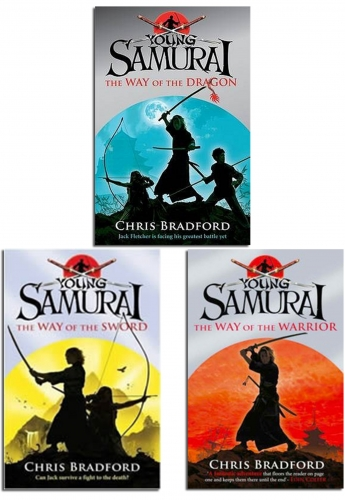 Young Samurai Series Collection 3 Books Set Pack Brand NEW by Chris Bradford by Chris Bradford