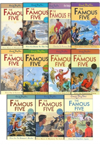 Enid Blyton FAMOUS FIVE (11 to 21) 11 Books Set New by Enid Blyton