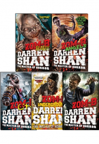 Zom B Series Collection  By Darren Shan 5 Books Set by Darren Shan