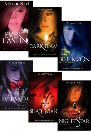 The Immortals Series 6 Books Collection Set by Alyson Noel by Alyson Noel
