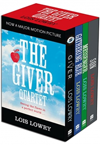The Giver Quartet Series Collection 4 Books Box Set Pack by Lois Lowry