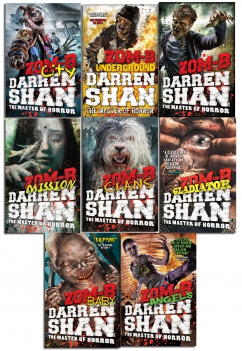 Zom-B Series Collection 8 Books Set by Darren Shan