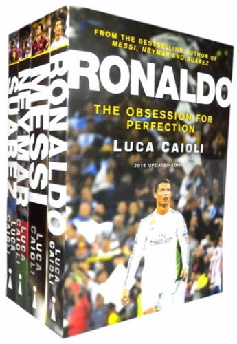 Football Icons around the world - Messi, Ronaldo, and Neymar (3 Books Collection Set - Football Super Star Legends) by Luca Caioli