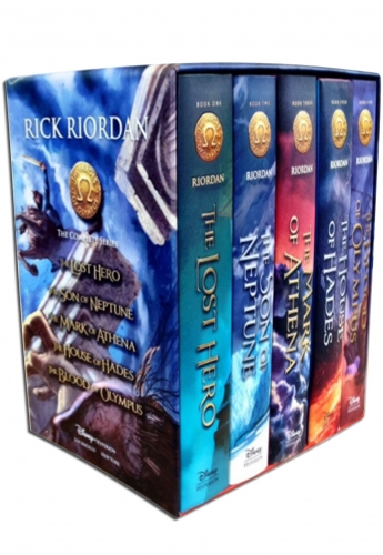 Heroes of Olympus Rick Riordan Collection 5 Books Box Set by Rick Riordan