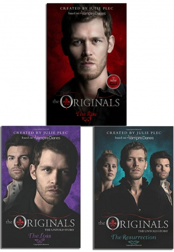 Julie Plec The Originals Series Collection 3 Books Set Vampires Vs Witches and Werewolves - Following Vampire Diaries will Oldest Vampires Survive by Julie Plec