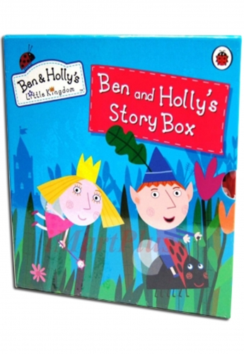 Large Library - Ben and Holly's Little Kingdom Story Box 6 Books Set Collection by Ladybird