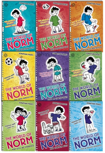 The World of Norm Series 1 to 3 - 9 Books Collection Pack Set By Jonathan Meres by Jonathan Meres