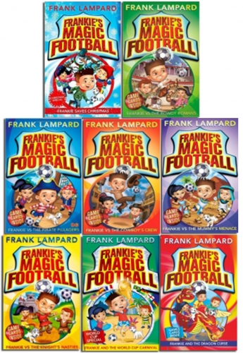 Frankies Magic Football Frank Lampard 8 Books Collection Pack Set by Frank Lampard
