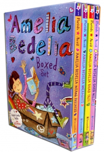 Amelia Bedelia Chapter Collection 4 Book Box Set (Books1-4) by Herman Parish, , Lynne Avril (Illustrator)