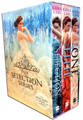 The Selection Collection Kiera Cass 3 Books Box Set by Kiera Cass
