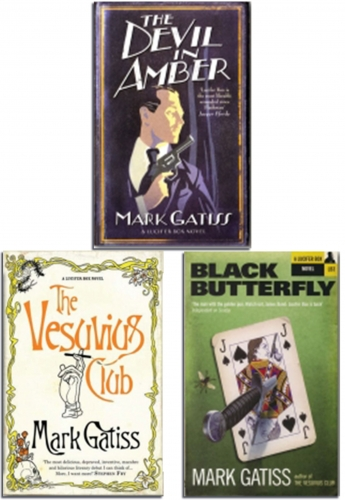 Mark Gatiss A Lucifer Box Novel Series 3 Books Collection Set (Black Butterfly) by Mark Gatiss