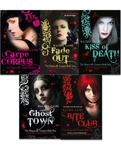 Morganville Vampires, Series 2 By Rachel Caine 5 Books Collection Set by Rachel Caine