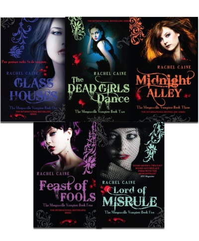 Morganville Vampires, Series 1 By Rachel Caine 5 Books Collection Set by Rachel Caine