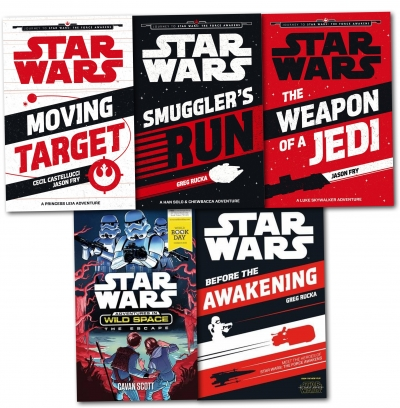 Star Wars: The Force Awakens 5 Books Collection Pack Set by Greg Rucka (Author), Jason Fry (Author), Cecil Castellucci (Author)