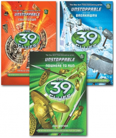 39 Clues Unstoppable Series 3 Books Collection Set by
