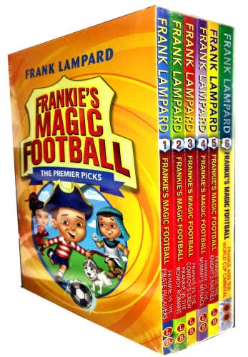 Frankies Magic Football Series 1- 6 Books Collection Set by Frank Lampard Book 1-6 by Frank Lampard