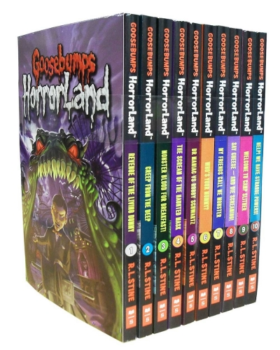 Goosebumps Horrorland Series Collection R. L. Stine 10 Books Box Set by R. L. Stine