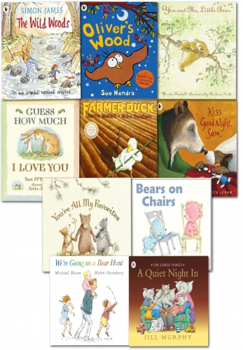 Walker Picture Book Collection 10 Books Set by Various