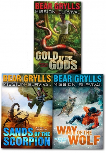 Mission Survival 3 Books Collection Set  by Bear Grylls by Bear Grylls