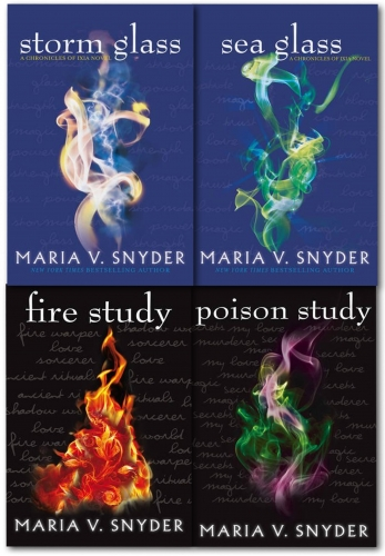 Maria V. Snyder The Chronicles of Ixia 4  Books Collection Set (Opal Cowan & Study Series Collection) by Maria V. Snyder