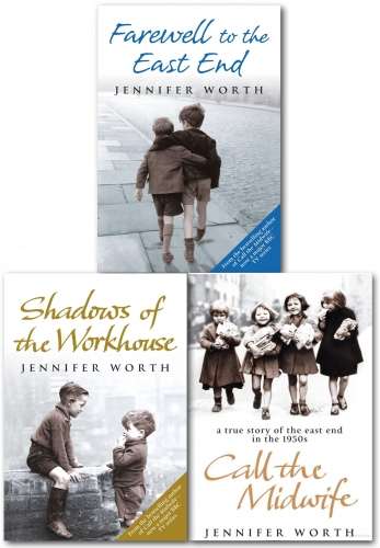 Jennifer Worth Collection 3 Books Collection Set by Jennifer Worth