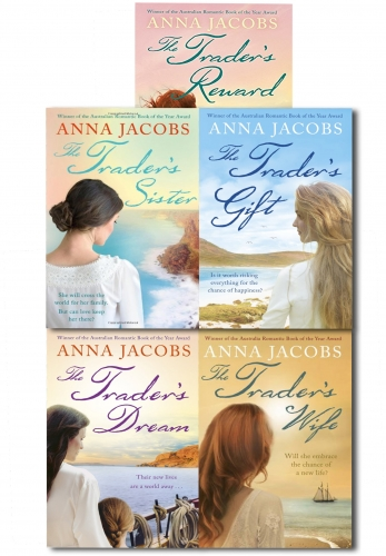 Anna Jacobs The Trader Series 5 Books Collection Set by Anna Jacobs