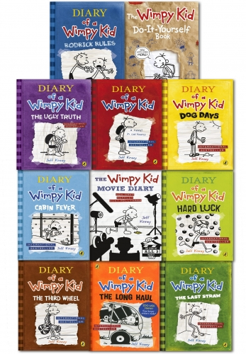 Diary of a wimpy kid collection 11 books set moive diary diary of a diary of a wimpy kid collection 11 books set moive diary diary of a wimpy solutioingenieria Images