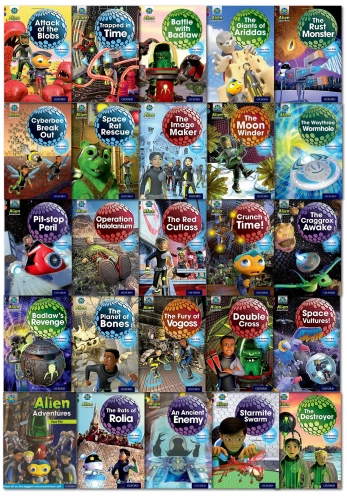 Project X Alien Adventures Series 2 Collection 25 Books Set by Various