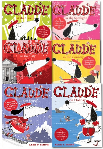 Claude Series Collection 6 Books Set By Alex T Smith