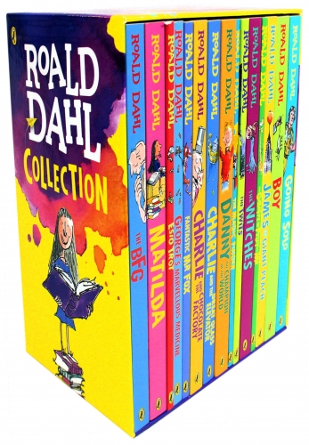 Roald Dahl Collection 15 Books Box Set New Covers by Roald Dahl