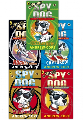 Spy Dog Series 1 Andrew Cope Collection 5 Books Set by Andrew Cope