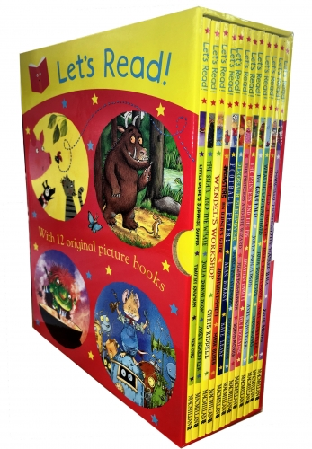 Julia Donaldson Let's Read Collection 12 Picture Books Box Set by Various