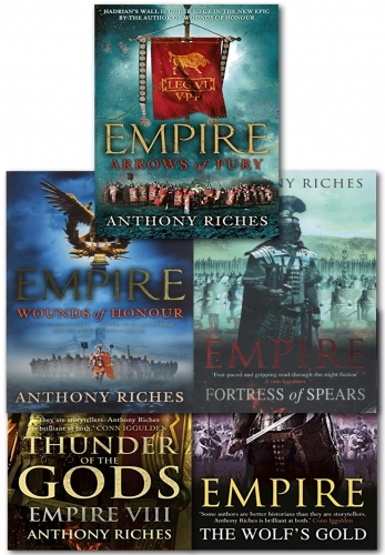 Anthony Riches Empire Series Collection 5 Books Set by Anthony Riches
