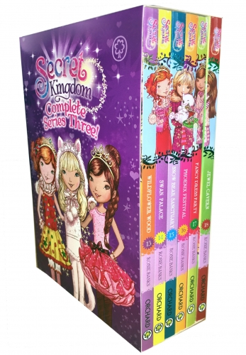 Secret Kingdom Series 3 Collection Rosie Banks 6 Books Set by Rosie Banks