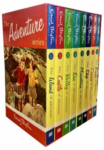 Enid Blyton Books Adventure Series