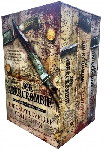 The Great Leveller Collection 3 Books Box Set by Joe Abercrombie BA (Best Served Cold, The Heroes and Red Country) (First Law Trilogy) by Joe Abercrombie BA