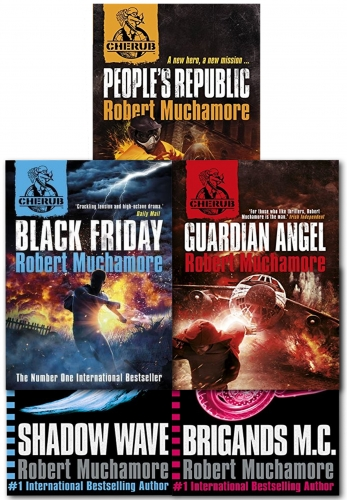 Cherub Series 3 Robert Muchamore Collection 5 Books Set by Robert Muchamore