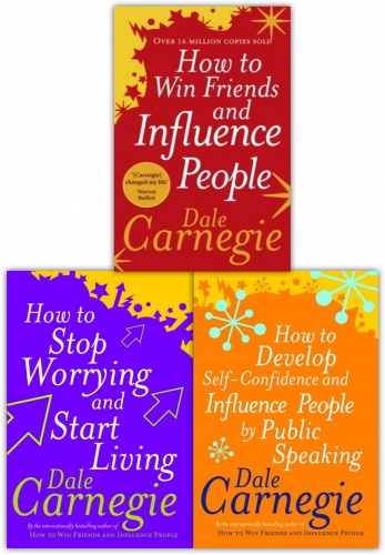 Dale Carnegie Personal Development Collection 3 Books Set by Dale Carnegie