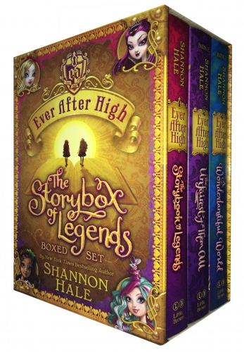 Shannon Hales Ever After High The Storybox of Legends 3 Books Collection Boxed Set by Shannon Hale